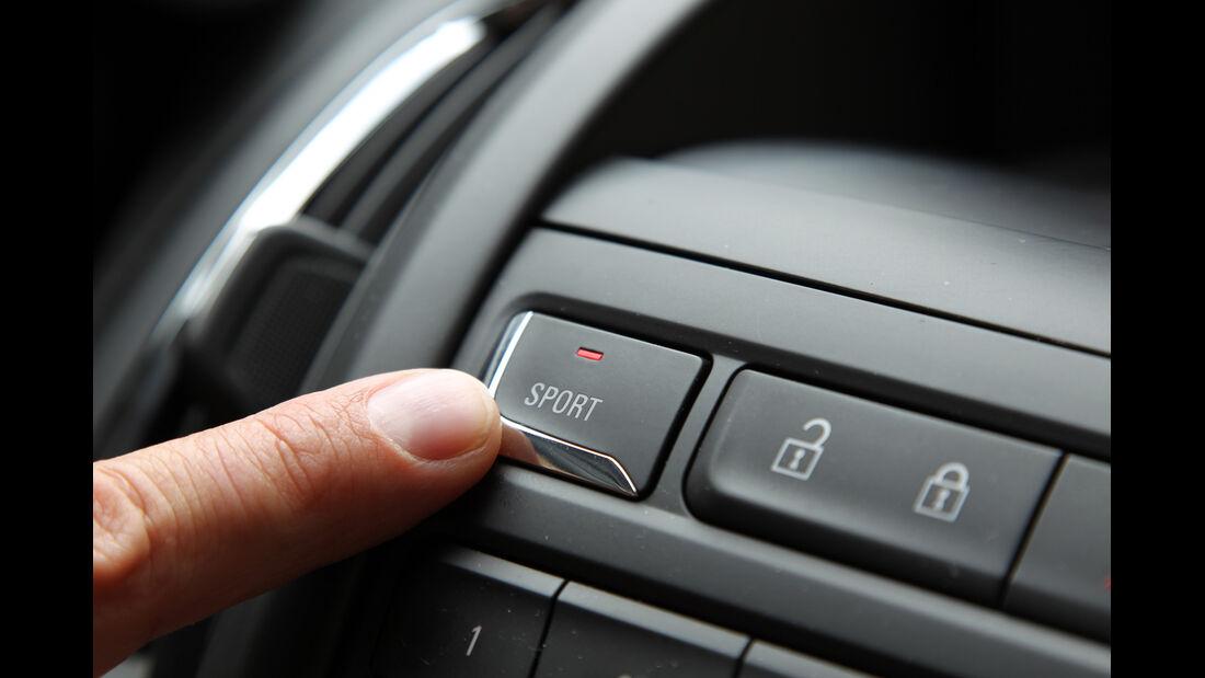 Opel Zafira Tourer 2.0 CDTi, Sport, Fahreinstellung