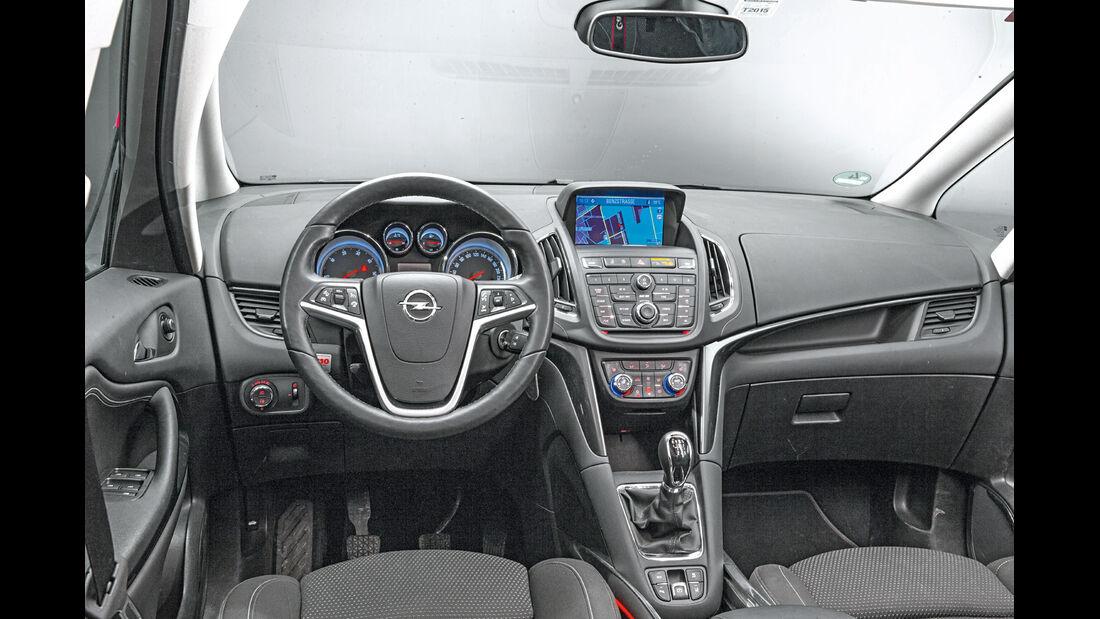 Opel Zafira Tourer, Cockpit