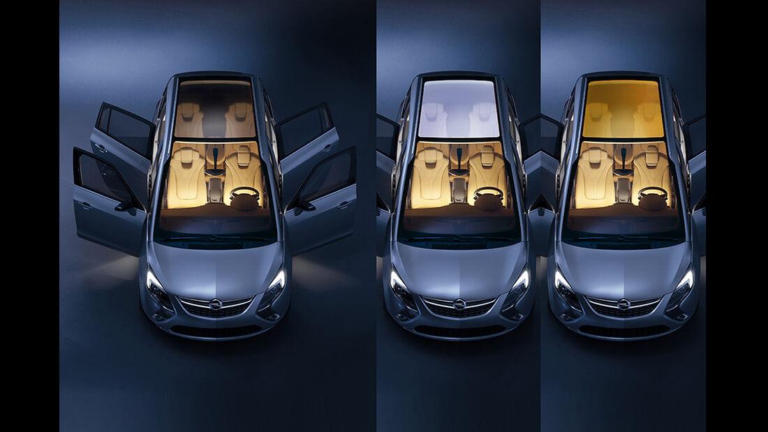 Opel Zafira Tourer Concept, Türkonzept