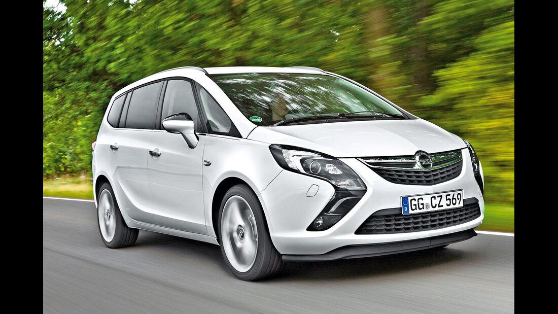 Opel Zafira/Tourer, Frontansicht