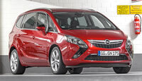 Opel Zafira Tourer, Frontansicht