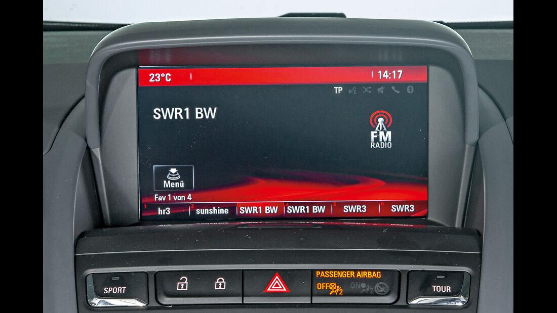 Opel Zafira Tourer, Radio