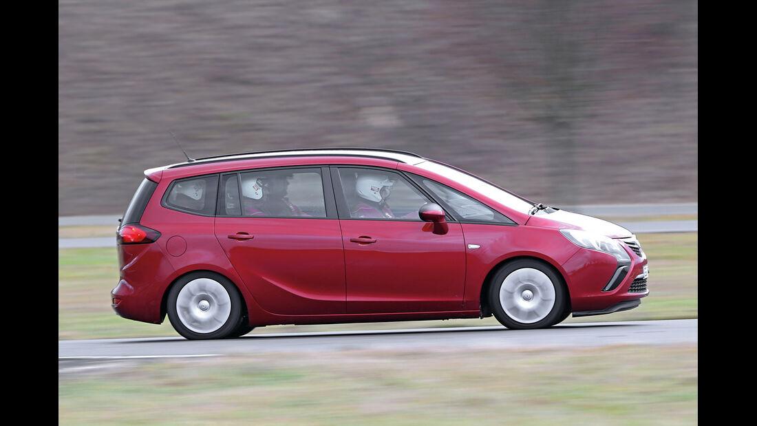 Opel Zafira Tourer, Seitenansicht