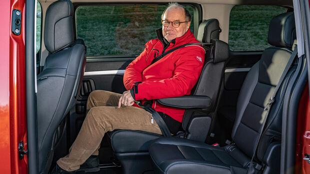 Opel Zafira-e Life M Tourer, Interieur
