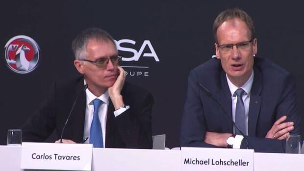 Opel Zukunftsplan 2017 Tavares und Lohscheller