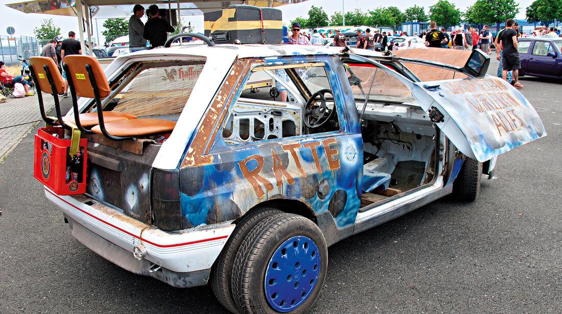 Opeltreffen, Opel Corsa, Umbau