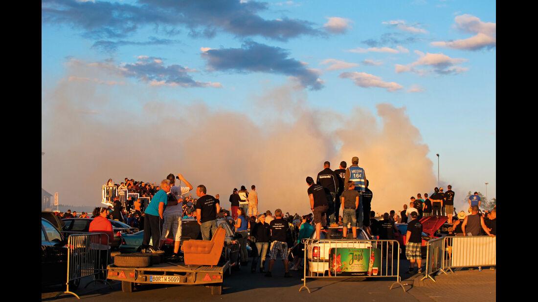 Opeltreffen, Qualm, Driftwettbewerb