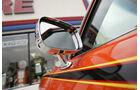 Orangener Pontiac GTO - Zierstreifen