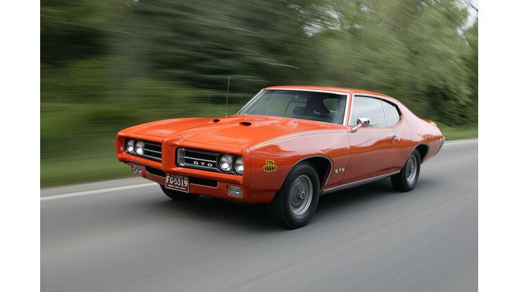 "dodge gto 1969 Pontiac GTO ""The Judge"" im Fahrbericht: Im Pontiac GTO durch die"