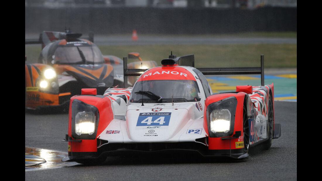 Oreca 05 Nissan - #44 - 24h Le Mans - Samstag - 18.06.2016
