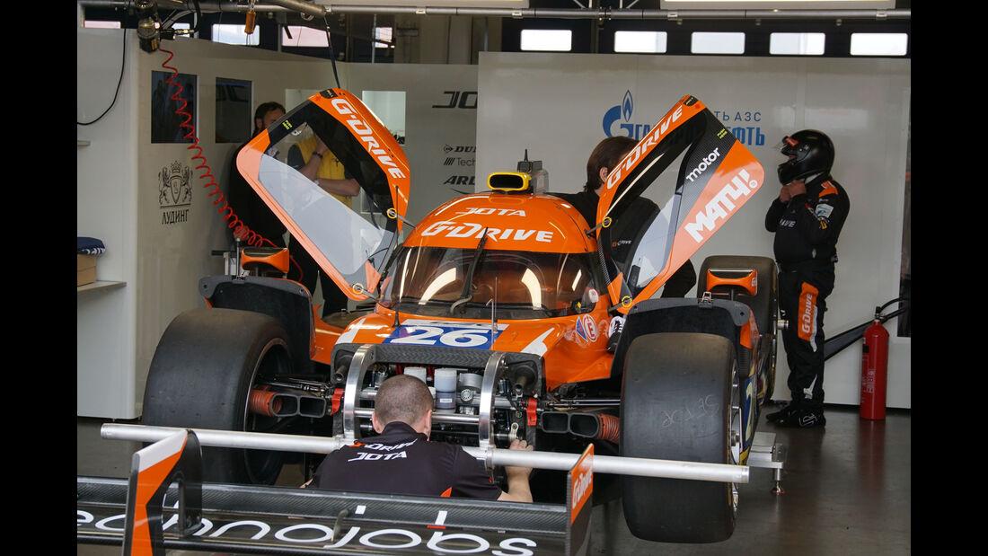Oreca 05 Nissan - G-Drive Racing - LMP2 - Startnummer #26 - WEC - Nürburgring - 6-Stunden-Rennen - Sonntag - 24.7.2016