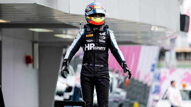 Oscar Piastri - Formel 2 - Russland - 2021