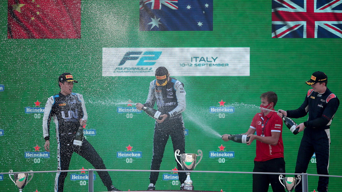 Oscar Piastri -  GP Italien - Monza - 2021