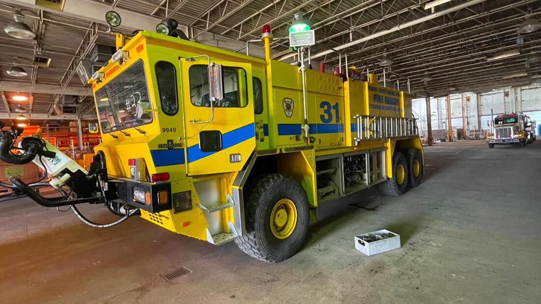 Oshkosh Model T-3000 ARFF Truck