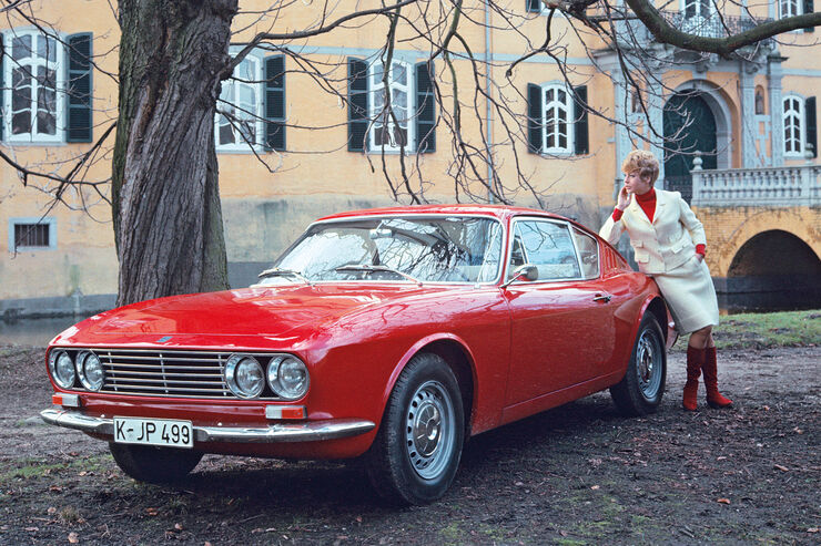 Osi-Ford 20 M TS, Frontansicht