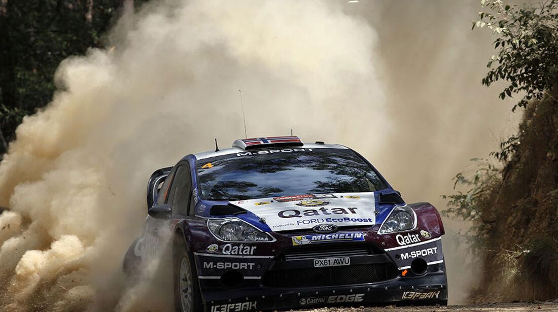 Ostberg, WRC Rallye Australien 2013