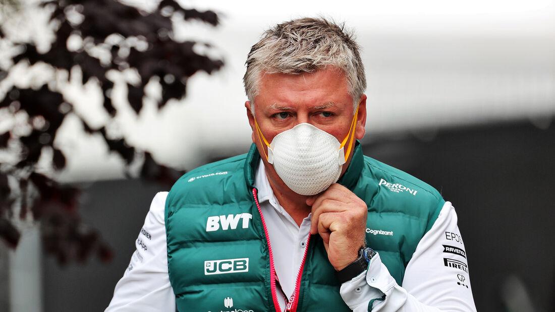 Otmar Szafnauer - Aston Martin - Formel 1 - GP Belgien - Spa-Francorchamps - 27. August 2021
