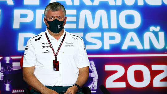 Otmar Szafnauer - Aston Martin - GP Spanien - Formel 1 - 7. Mai 2021