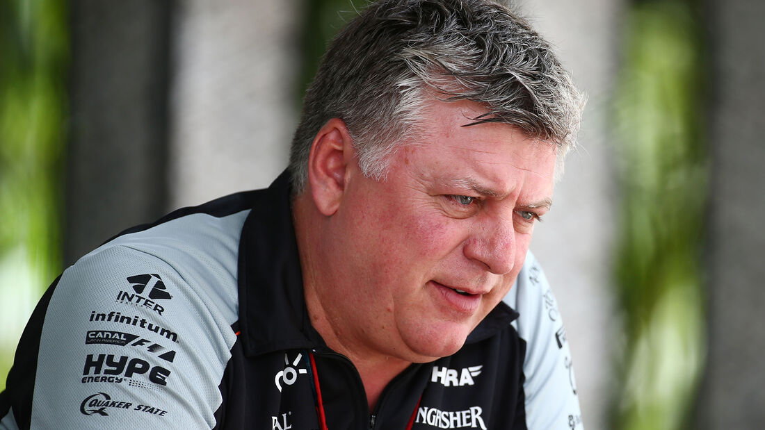 Otmar Szafnauer - Force India - Formel 1 - 2016