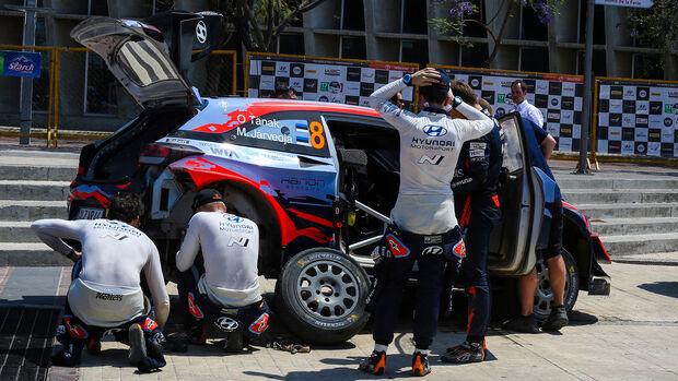Ott Tänak - Hyundai i20 Coupé - Rallye Mexiko 2020