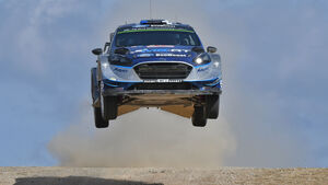 Ott Tänak - M-Sport Ford Fiesta WRC - Rallye-WM - WRC - Italien - Sardinien 2017