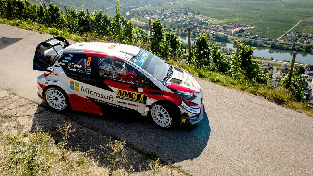 Ott Tänak - Rallye Deutschland 2019
