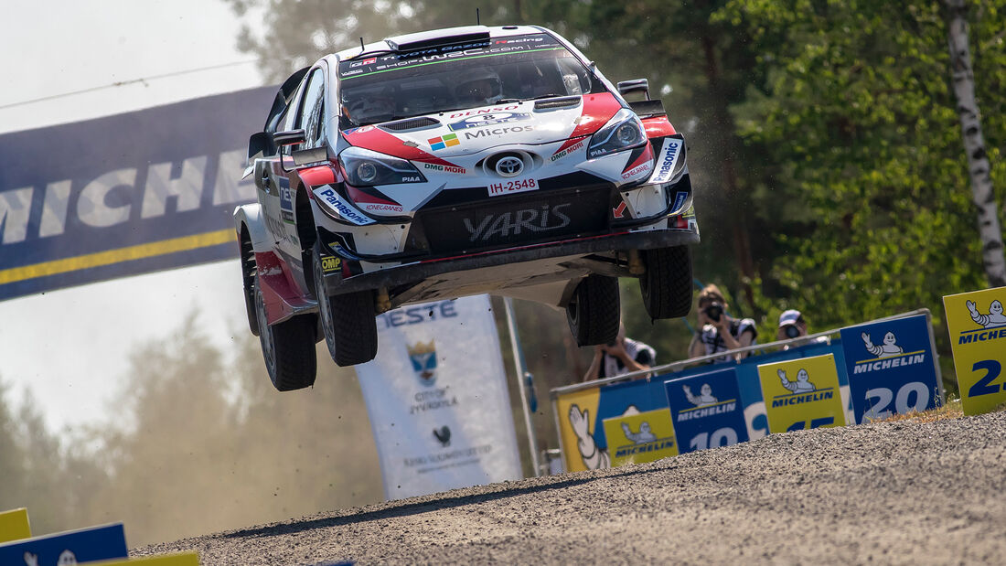 Ott Tänak - Rallye Finnland 2018
