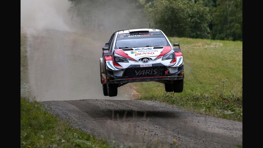 Ott Tänak - Rallye Finnland 2019