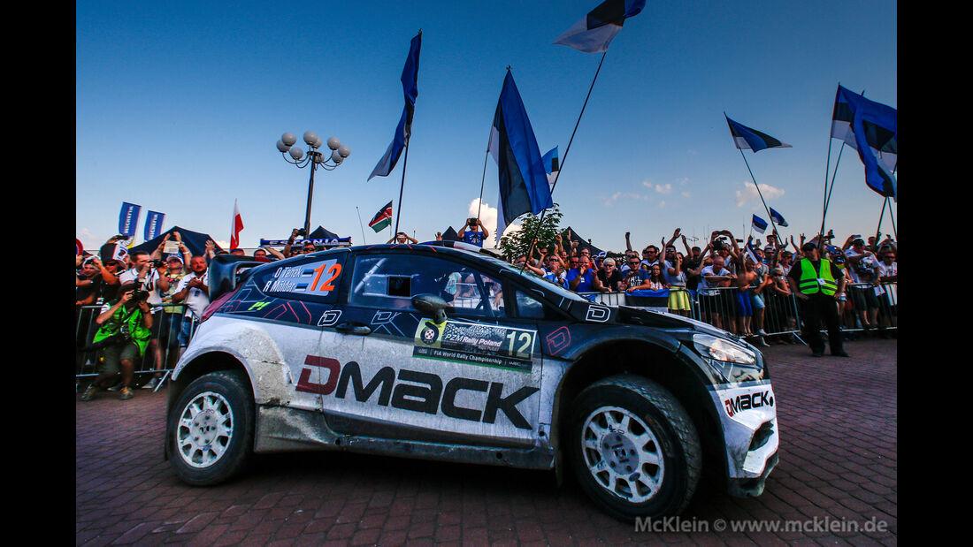 Ott Tänak - Rallye Polen 2016