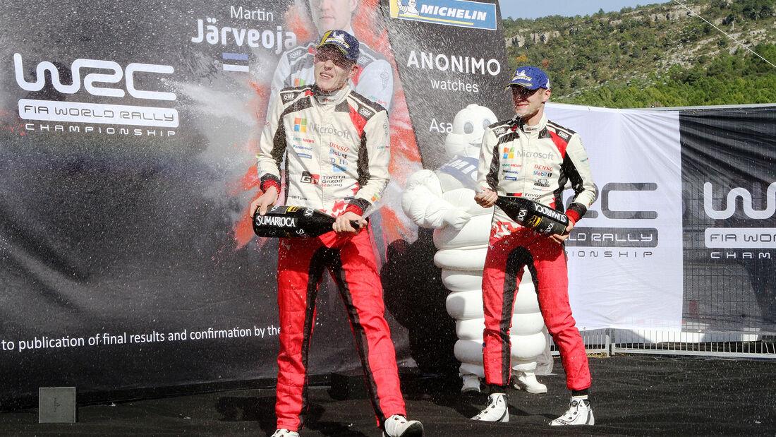 Ott Tänak - Toyota - Rallye Katalonien 2019