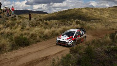 Ott Tänak - Toyota Yaaris WRC - Rallye-WM - Argentinien 2018