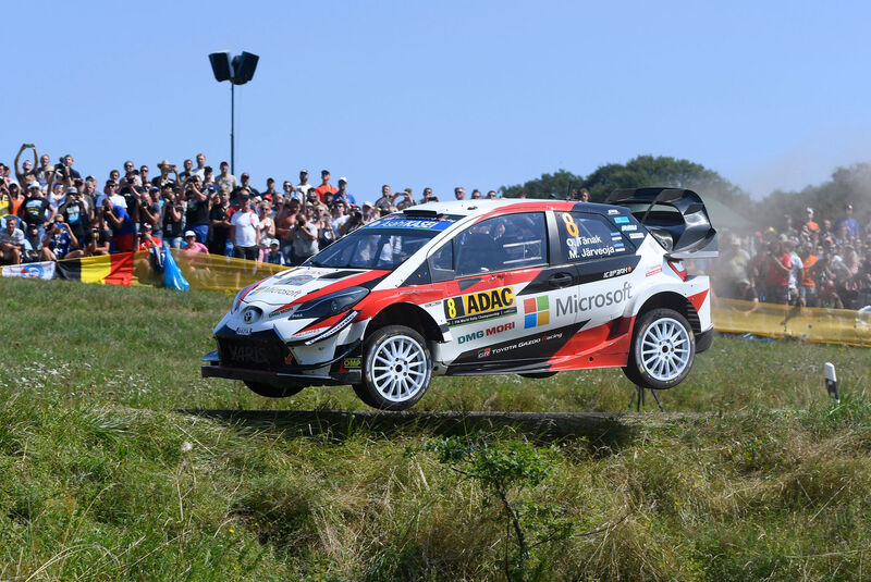 Ott Tänak - Toyota Yaris WRC - Rallye Deutschland 2018
