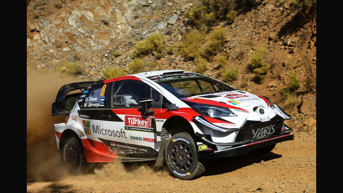 Ott Tänak - Toyota Yaris WRC - Rallye Türkei