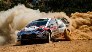 Ott Tänak - Toyota Yaris WRC - Rallye Türkei 2018