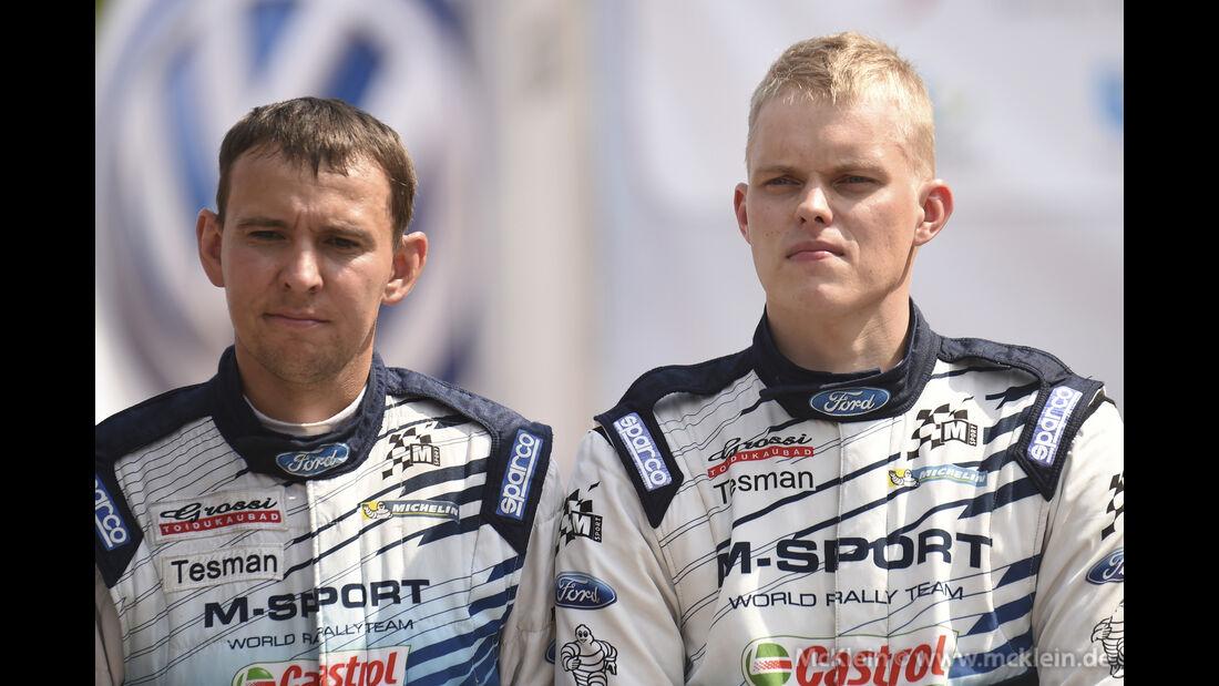 Ott Tänak - WRC Rallye Polen 2015