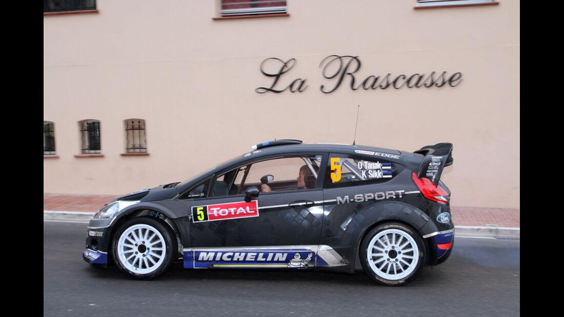 Ott Tanak Ford Rallye Monte Carlo 2012