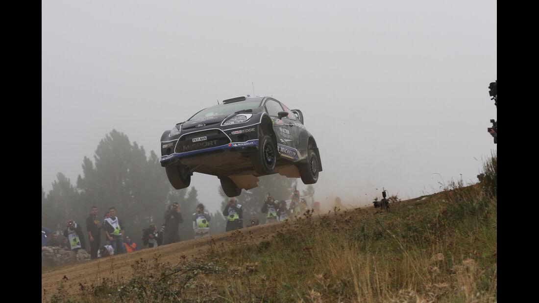 Ott Tanak Rallye Italien 2012 WRC
