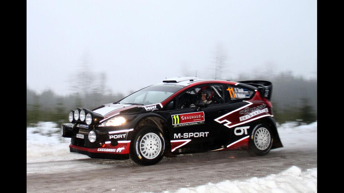Ott Tanak - Rallye Schweden 2014