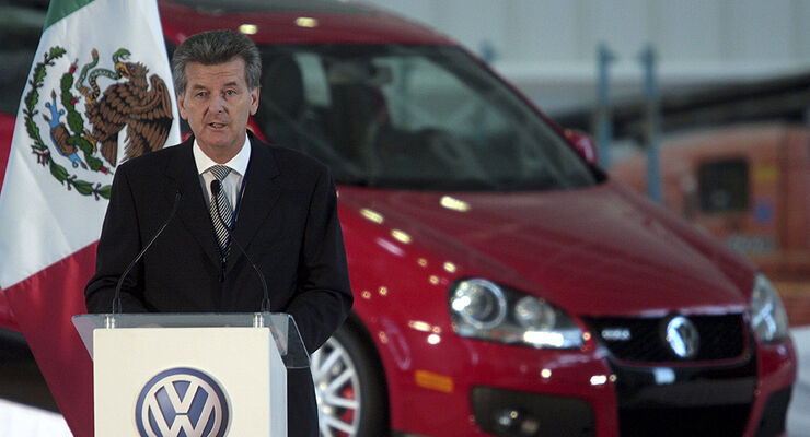 Otto Lindner, President of Volkswagen Mexico
