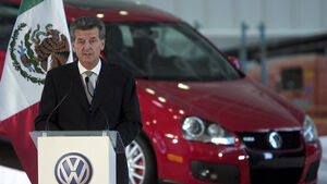 Otto Lindner, President of Volkswagen Mexico