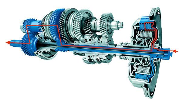 PDK Doppelkupplungsgetriebe Porsche Panamera