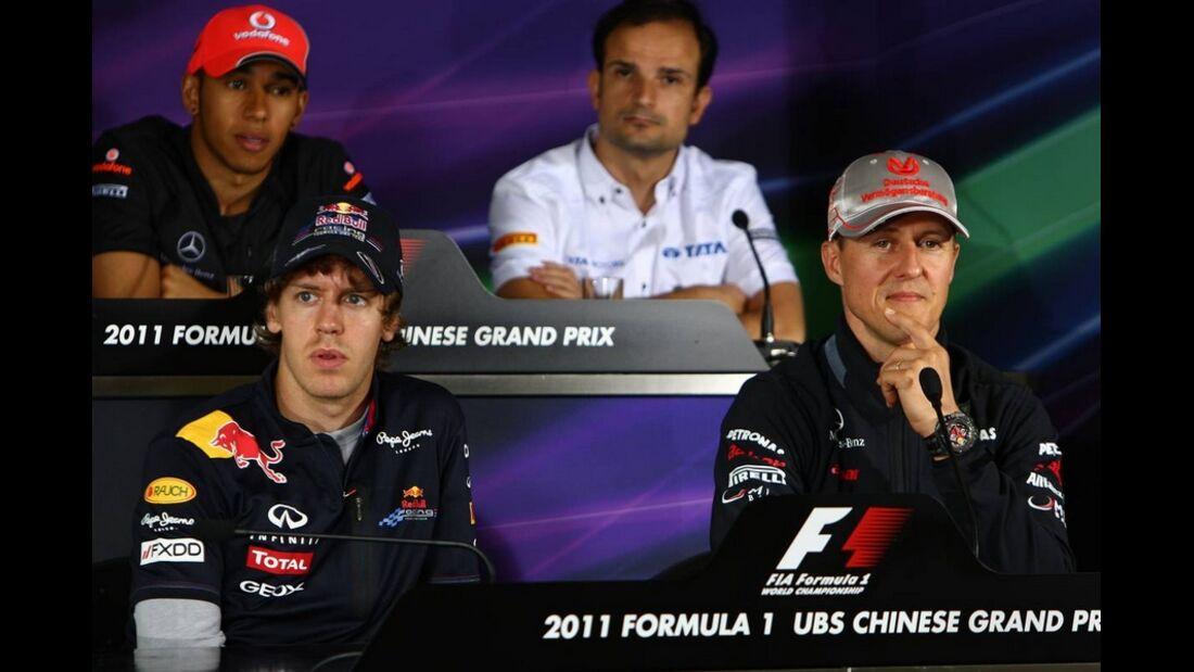 PK Formel 1 GP China 2011
