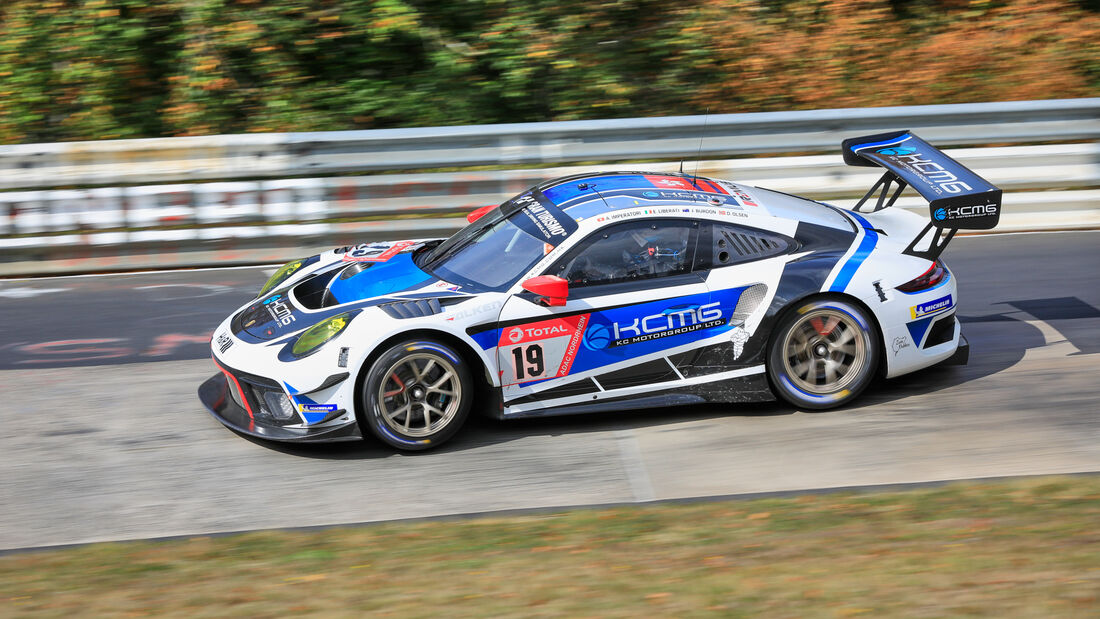 POrsche 911 GT3 R - KCMG - Startnummer #19 - Klasse: SP9 - 24h-Rennen - Nürburgring - Nordschleife - 24. bis 27. September 2020