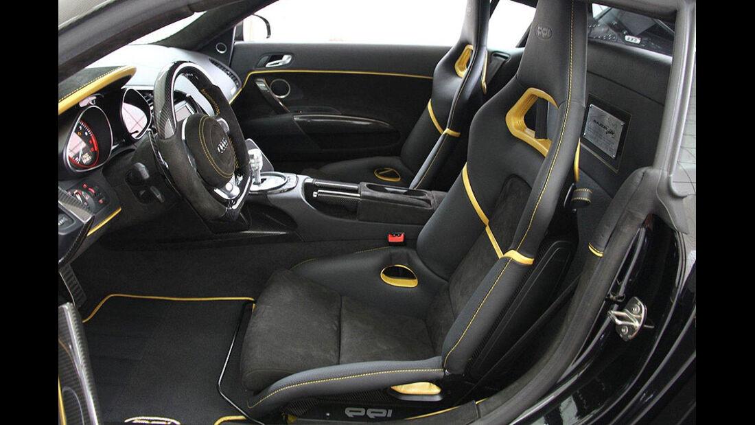 PPI Audi R8, Innenraum