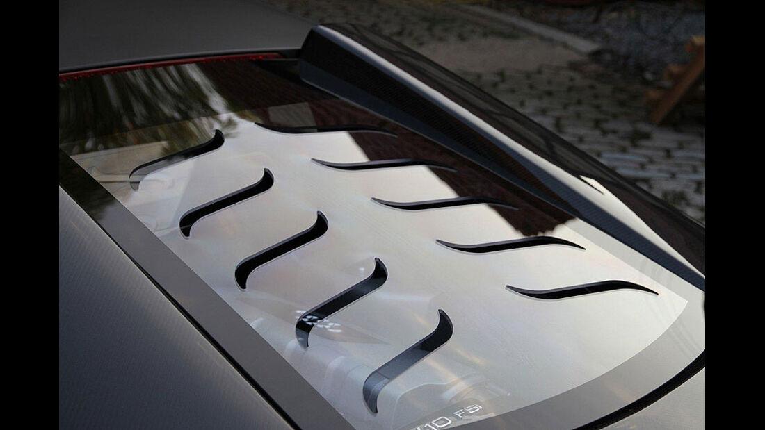 PPI Audi R8, Scheibe
