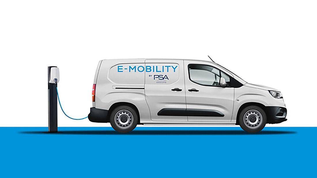 PSA E-Mobility Elektrotransporter