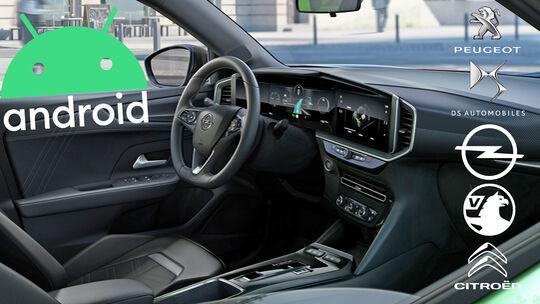 PSA Opel Android Automotive
