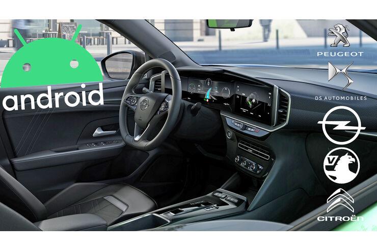 PSA setzt auf Android Automotive: Peugeot, Opel und Co. lassen Google ins Auto