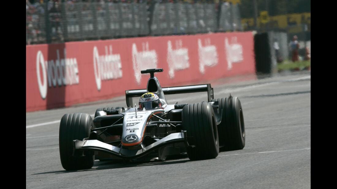 Pablo Montoya F1 Top Speed