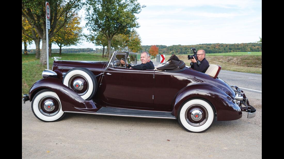 Packard 120 Convertible, Besatzung